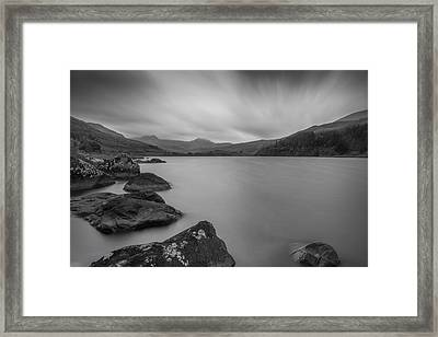 Freedom At The Lake Framed Print by Ian Mitchell