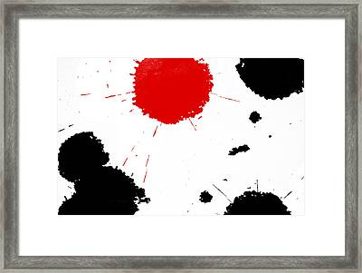Freedom / Blood And Ink Framed Print