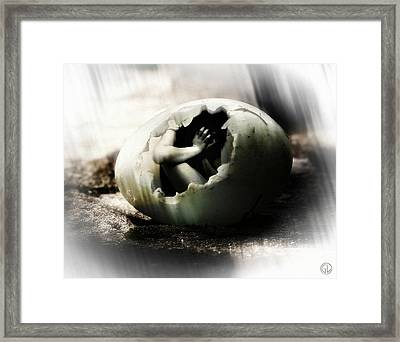 Freedom Can Be A Scary Thing Framed Print