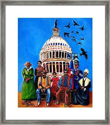 Freedom - Celebrating Juneteenth Framed Print