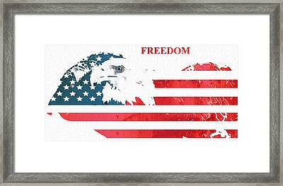 Freedom Framed Print by Dan Sproul