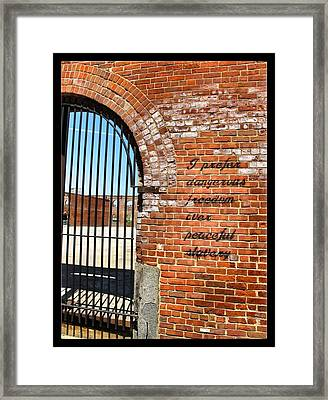 Freedom Framed Print by Edward Hamm