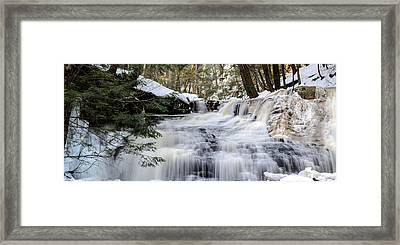 Freedom Falls Winter Framed Print