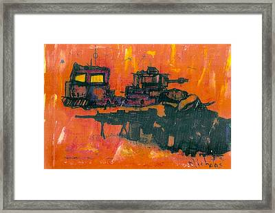 Freedom For Iraq Framed Print by Nick Banks