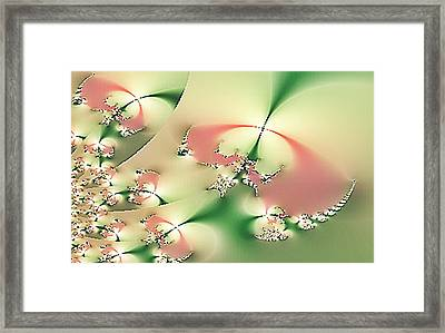 Freedom In Design Framed Print by Linda Phelps