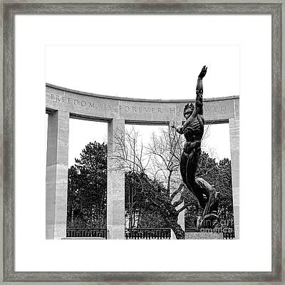 Freedom Is Forever Framed Print by Olivier Le Queinec