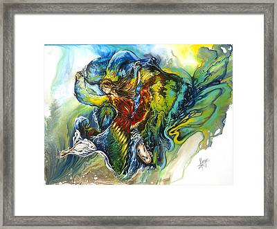 Freedom Framed Print by Karina Llergo
