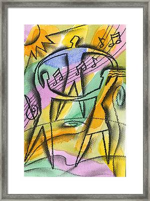 Freedom Framed Print by Leon Zernitsky