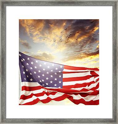 Freedom Framed Print by Les Cunliffe