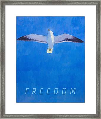 Freedom Framed Print by Lutz Baar