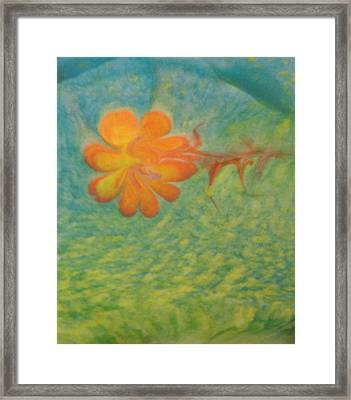 Framed Print featuring the painting Freedom by Mike Breau