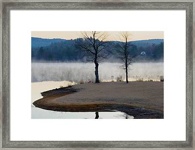 Freedom Mist Framed Print