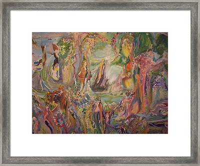 Freedom Of Being Framed Print by Judith Desrosiers