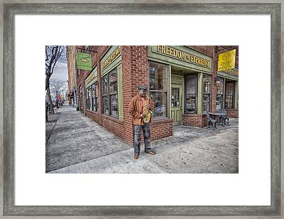 Freedom Of Espresso Framed Print