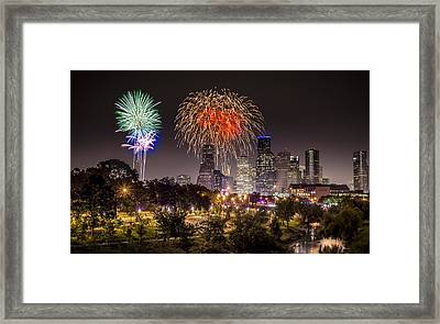 Freedom Over Texas Framed Print