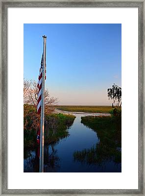 Freedom Pass Framed Print by Ken  Collette