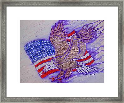 Freedom Reigns Framed Print