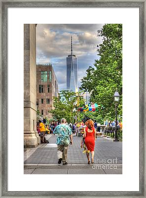 Freedom Framed Print by Rick Kuperberg Sr