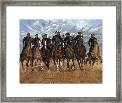 Freedom Riders Framed Print