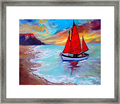 Freedom Sails Framed Print