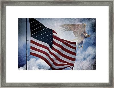 Freedom Framed Print by Scott Pellegrin