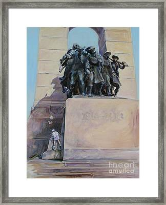 National War Memorial Ottawa Freedom The 24th Framed Print