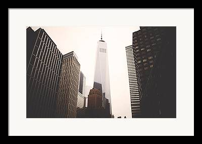 Freedom Towers Framed Prints