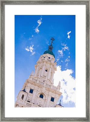 Freedom Tower Dade College Miami Framed Print