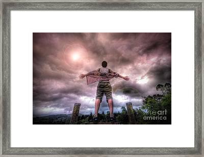 Freedom Framed Print by Yhun Suarez