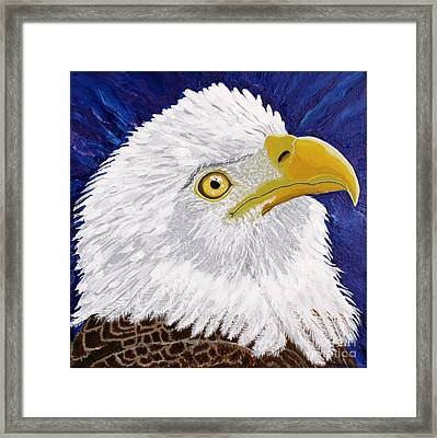 Freedom's Hope Framed Print by Vicki Maheu