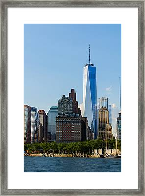 Freedon Tower 2 Framed Print