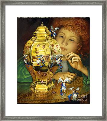 Freeing Angels Framed Print