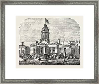 Freemasonry In South London New Masonic Hall, Camberwell Framed Print