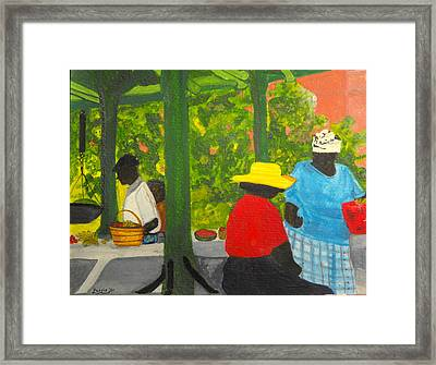 Freeport Market Framed Print
