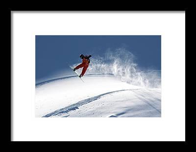 Snowboard Framed Prints