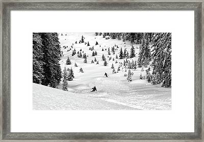 Freeriders Framed Print