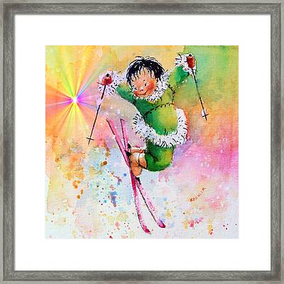 Freestyle Smiles Framed Print