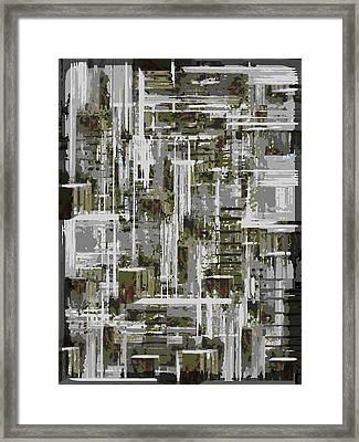 Freeway Park 10 Framed Print by Tim Allen