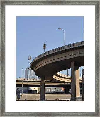 Freeway Framed Print