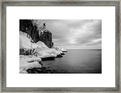 Framed Print featuring the photograph Freezing Beauty by RC Pics