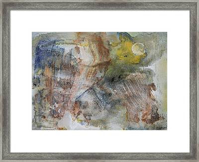 Freezing Moon  November Framed Print