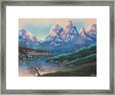 Freezing Temperatures Framed Print