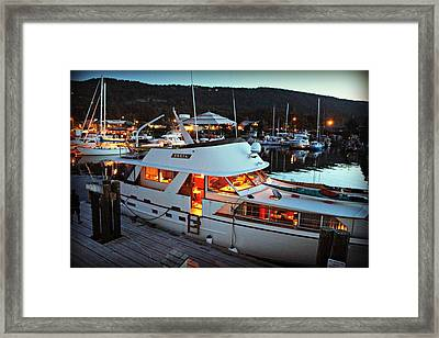 Freia At Dusk Framed Print