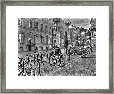 Freiburg Road Homes  Framed Print by Dean Wittle