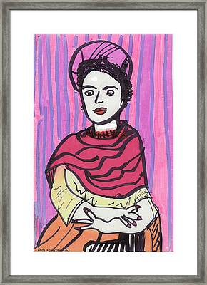 Frida Kahlo Framed Print by Don Koester