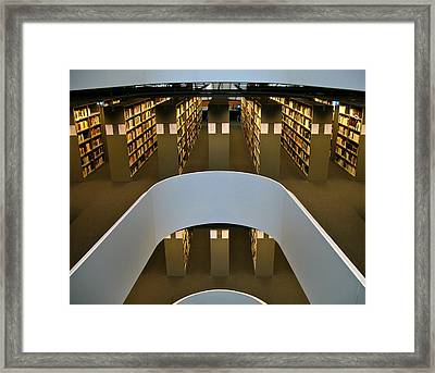 Freie Library Framed Print by Alexi Hoeft
