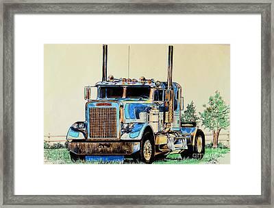 Freightliners Framed Print