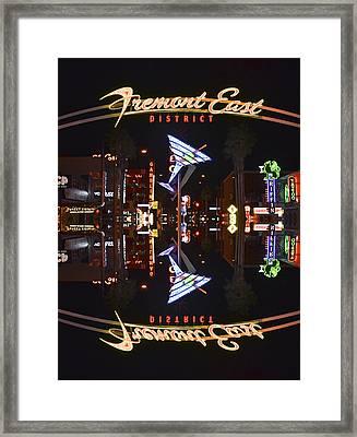 Fremont East 1 Framed Print