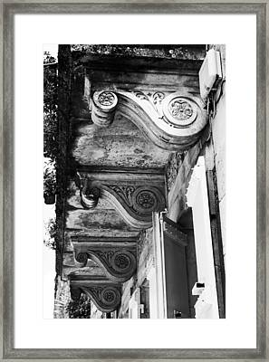 French Architecture Framed Print