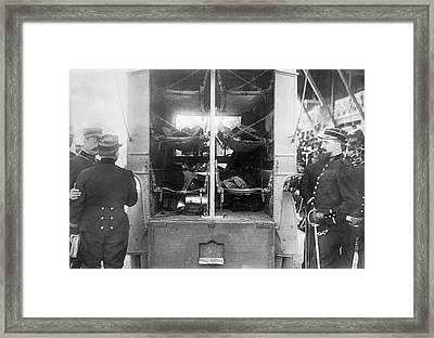 French Army Ambulance Framed Print by Library Of Congress